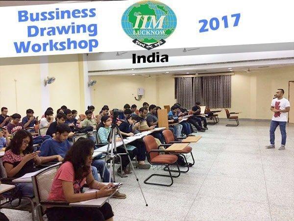 Business-drawing-workshop-IIM-lucknow-curious piyuesh