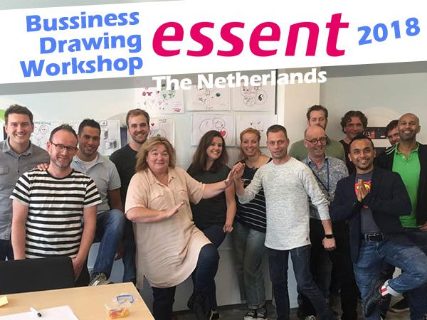Business-drawing-workshop-Technical-Univresity-Essent-curious piyuesh
