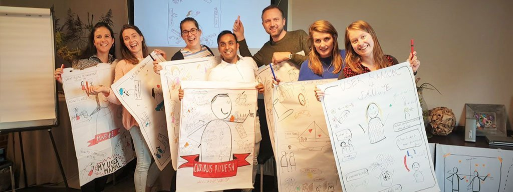Visual Storytelling in business friesland campina