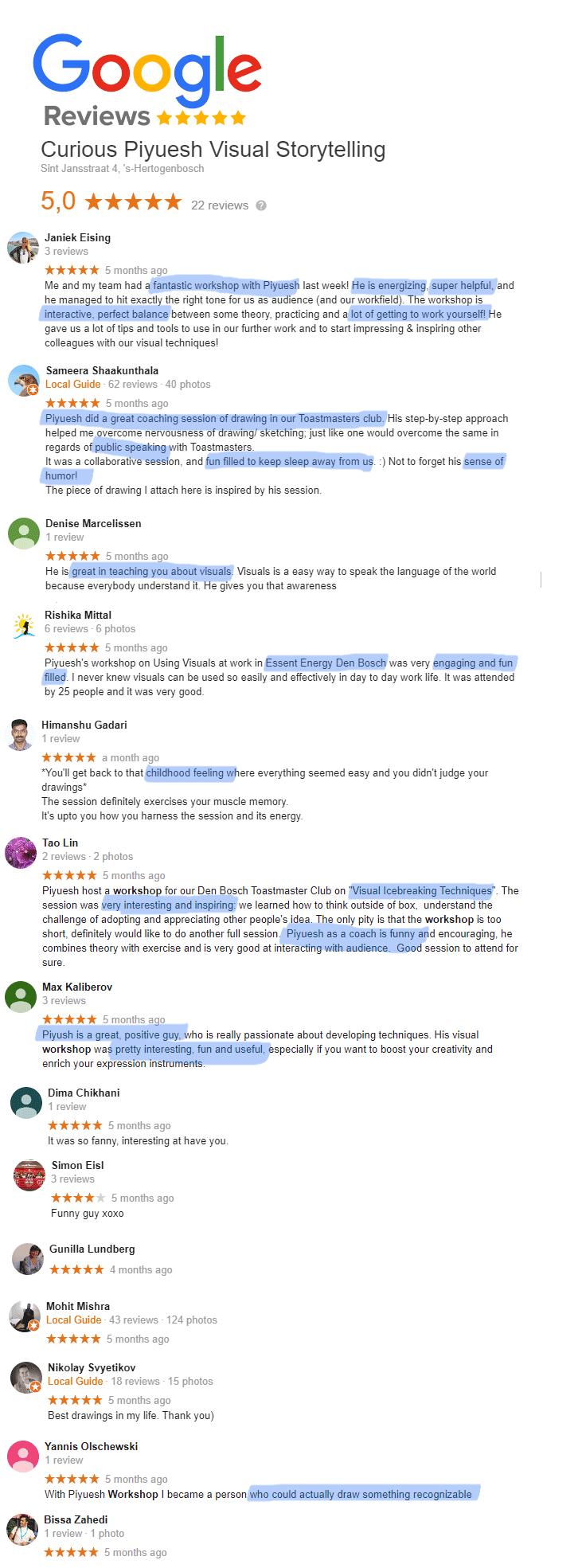 Google-reviews-for-Curious-Piyuesh-2020