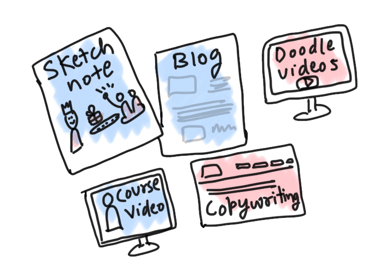 Online-Content-Doodle-and-icons-by-curious-piyuesh