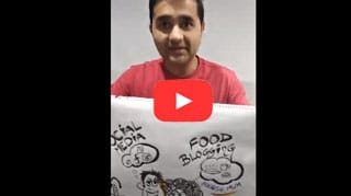 Amit sketchy sultan testimonial on 4 days of business doodles